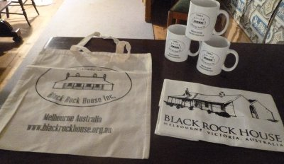 Merchandise available during Black Rock House tours